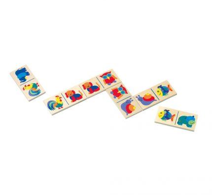Dřevěné domino pro děti