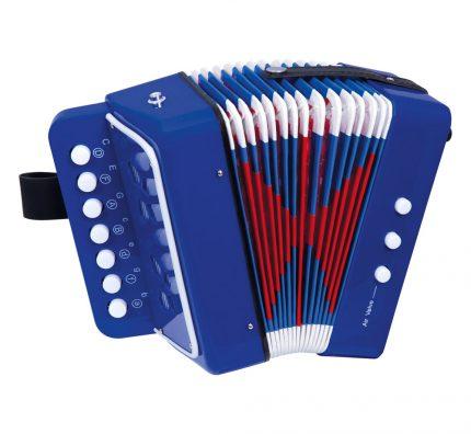 Dětské foukací a tahací harmoniky pro děti