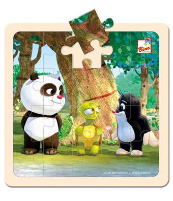 Dětské dřevěné puzzle
