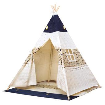 Indiánské stany teepee pro děti