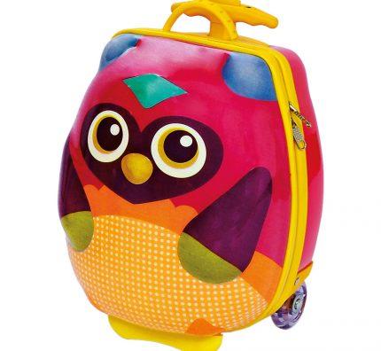 Dětské kufříky na kolečkách